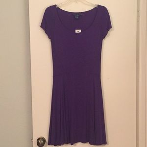 Jewel Tone Skater Dress
